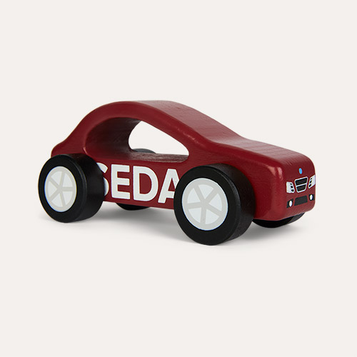 Red Kid's Concept Sedan Car