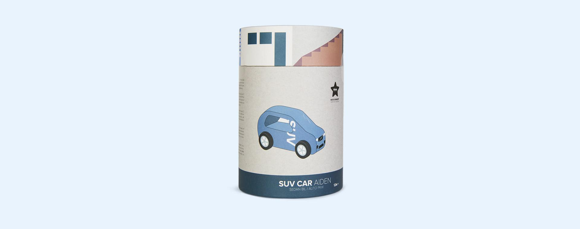 Grey Kid's Concept SUV Car