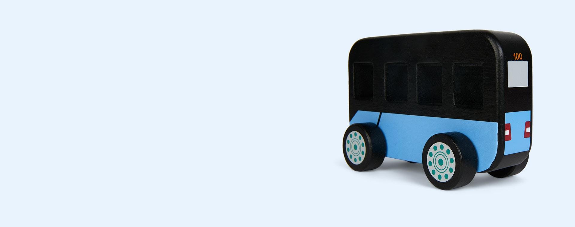Black Kid's Concept City Bus