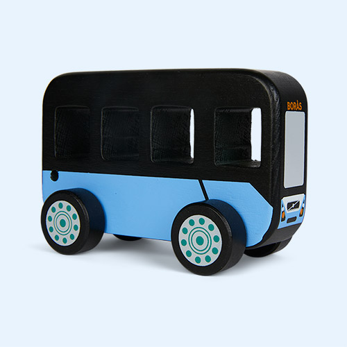 Black Kid's Concept City Bus