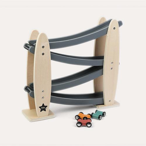 Black Kid's Concept Car Track