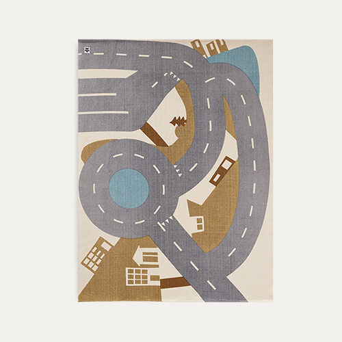 Multi Kid's Concept City Rug