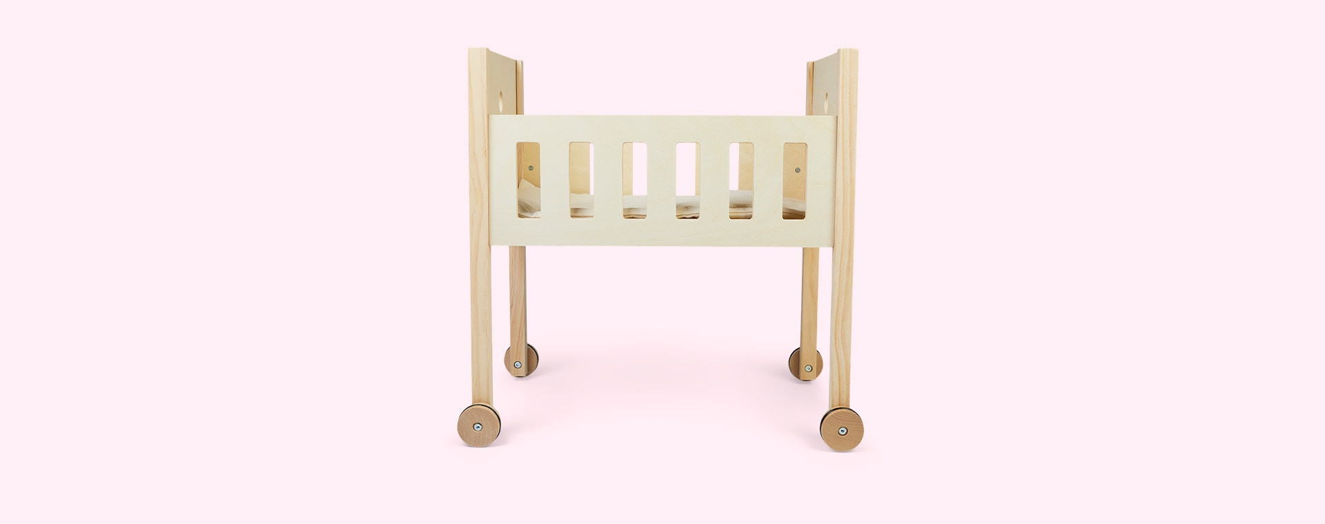 White Kid's Concept Doll Bed