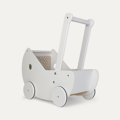White Kid's Concept Doll Pram
