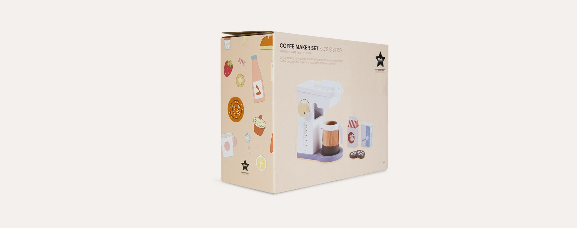 Multi Kid's Concept Coffee Machine Set