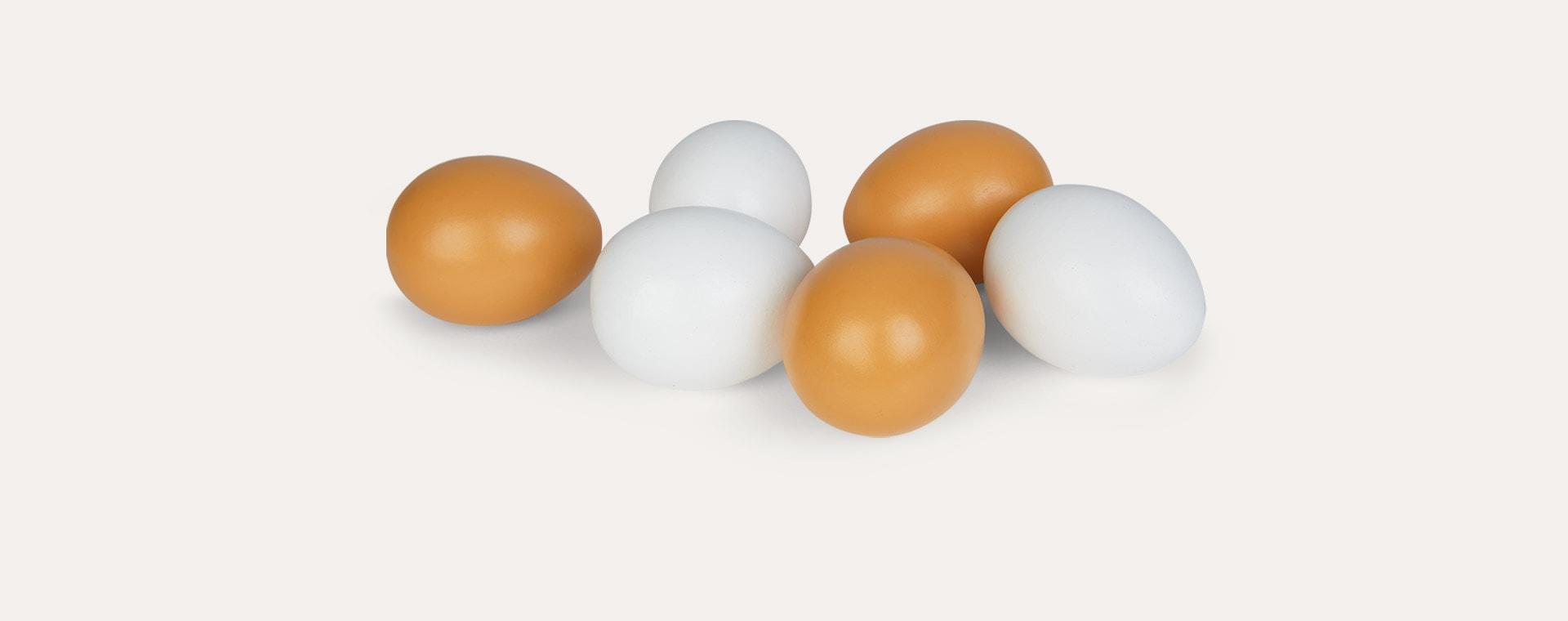 Multi Kid's Concept Eggs 6 Pack
