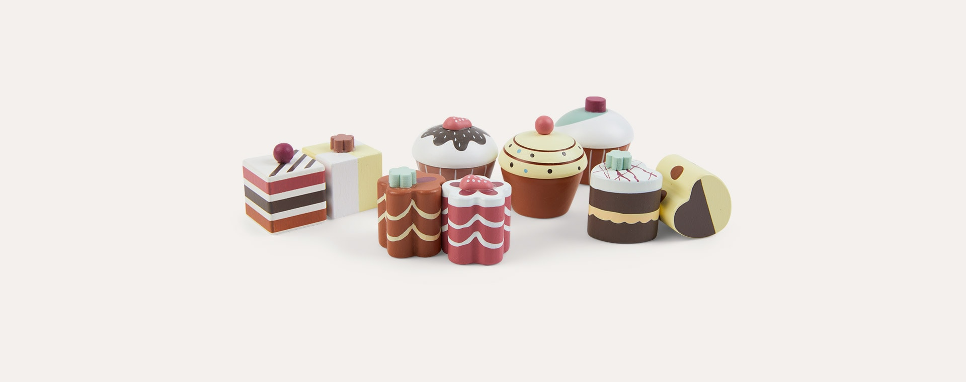 Multi Kid's Concept Pastries 9 Pack