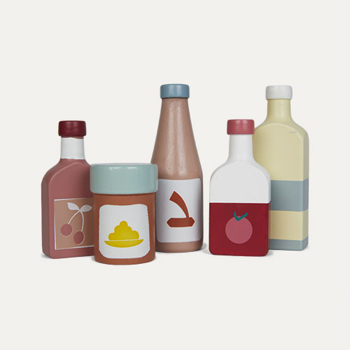 Multi Kid's Concept Bottle Set 5 Pack