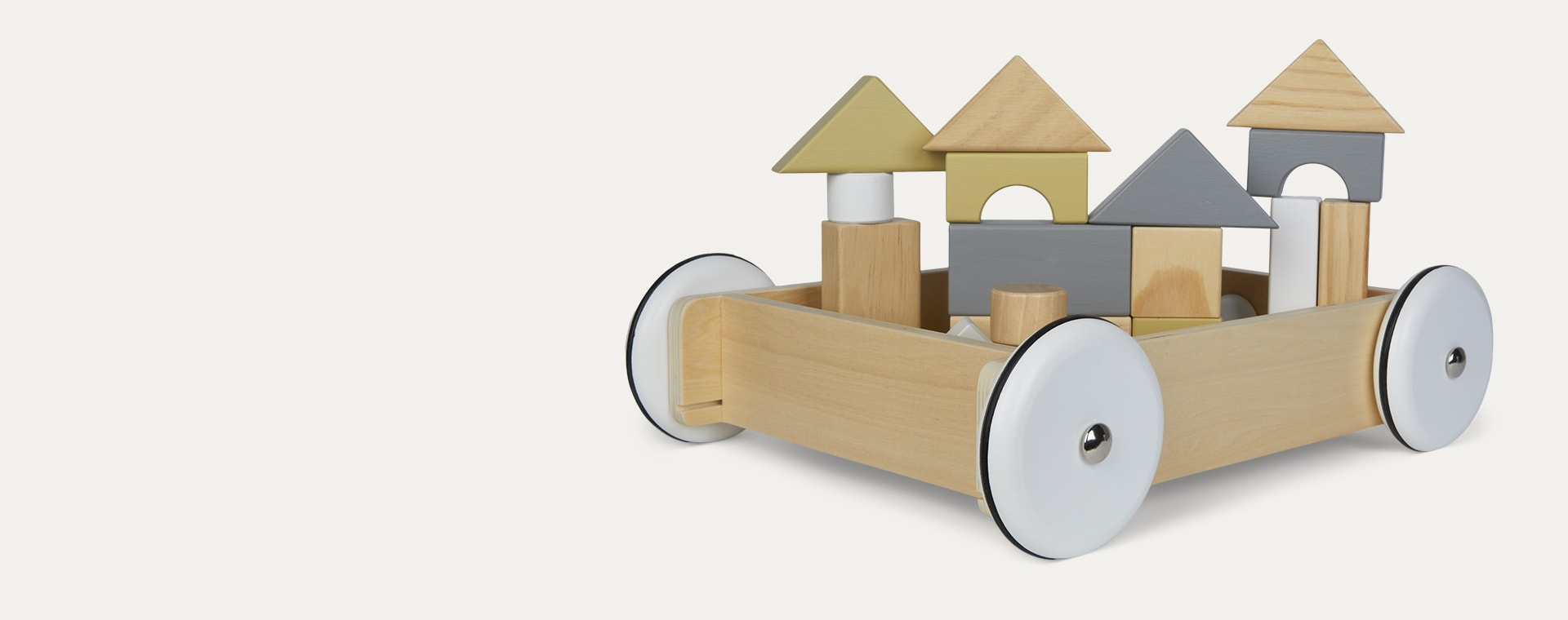 Multi Kid's Concept Toy Wagon with Blocks