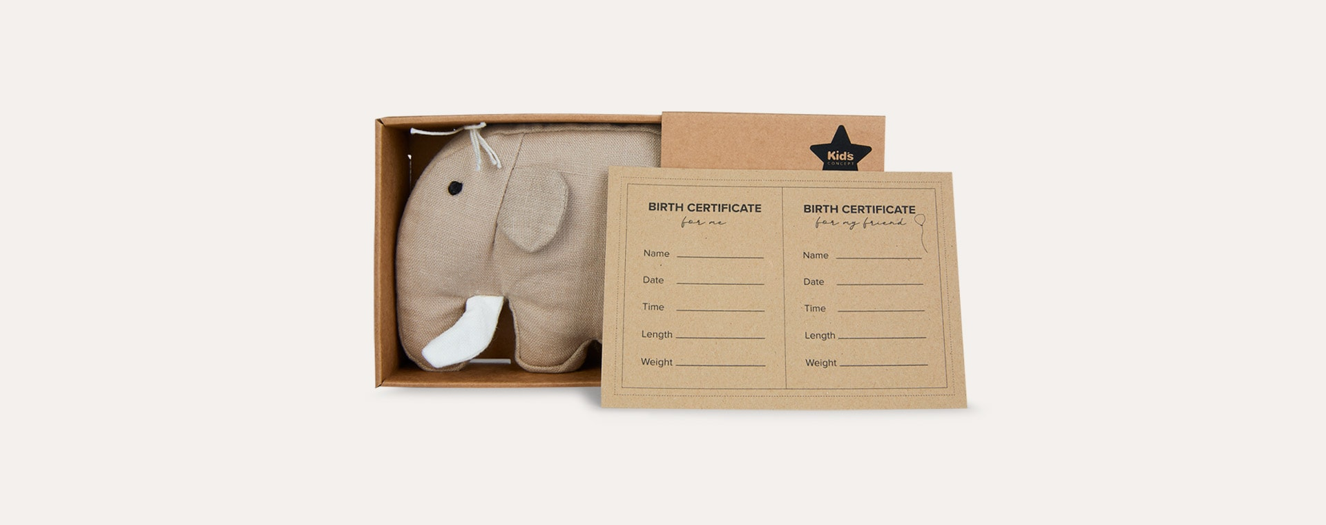 Multi Kid's Concept Soft Toy Mammoth