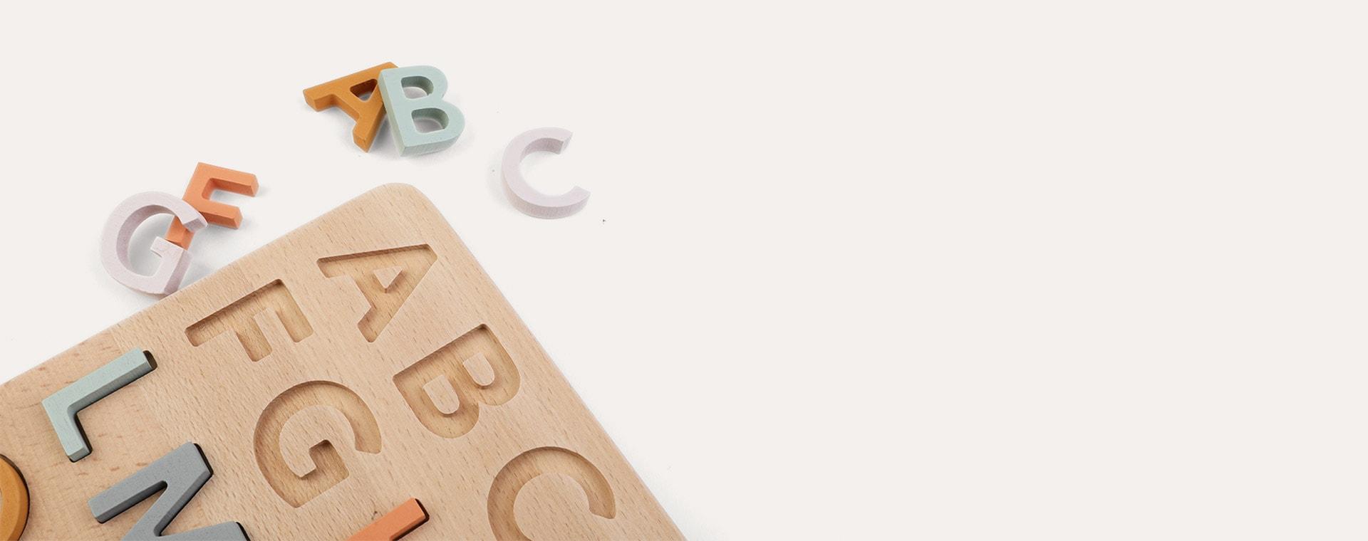Multi Kid's Concept ABC puzzle
