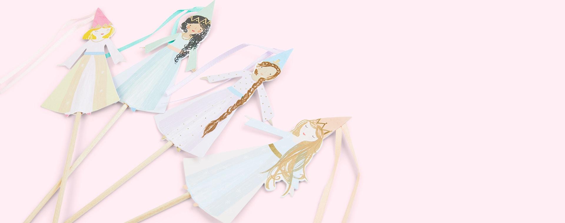 Multi Meri Meri Magical Princess Cake Toppers