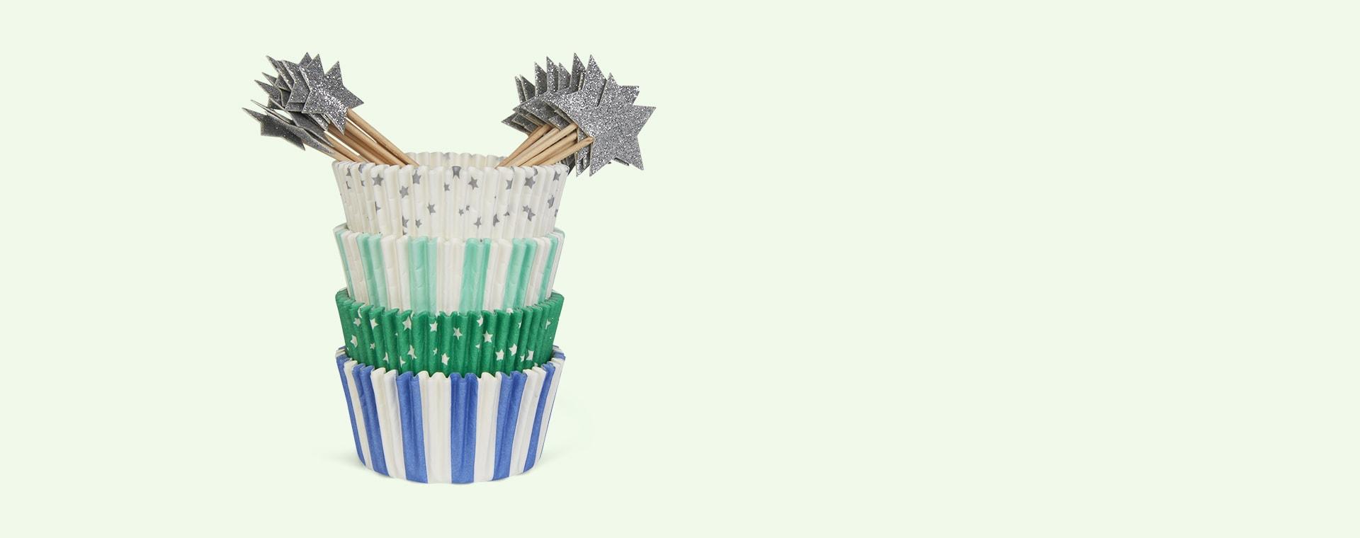 Blue Star Meri Meri Star Cupcake Kit