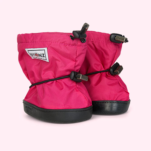 Fuschia Stonz Toddler Booties
