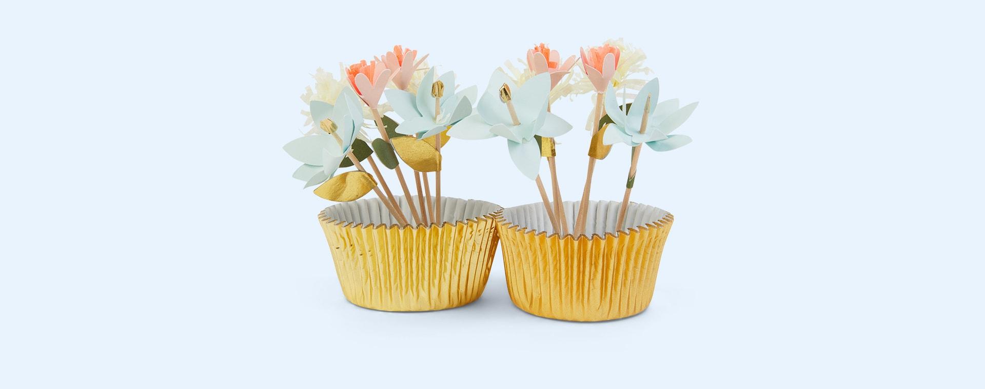 Multi Meri Meri Flower Bouquet Cupcake Kit