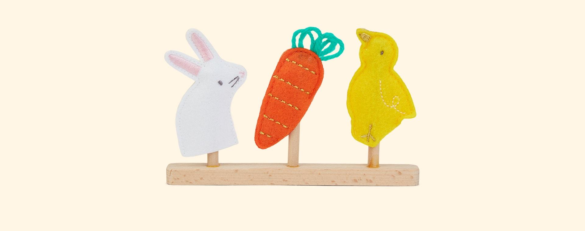 Multi Meri Meri Easter Finger Puppets