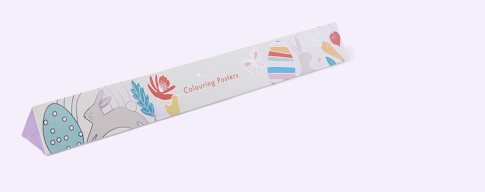 Multi Meri Meri Easter Colouring Posters