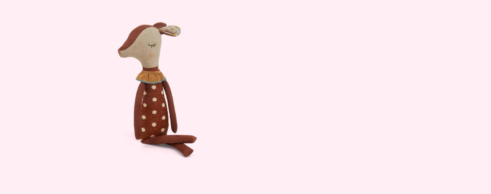 Brown Maileg Sleepy / Wakey Bambi