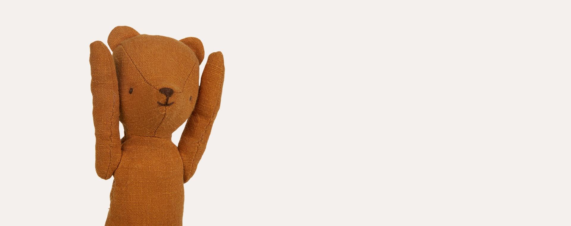 Orange Maileg Teddy Mum
