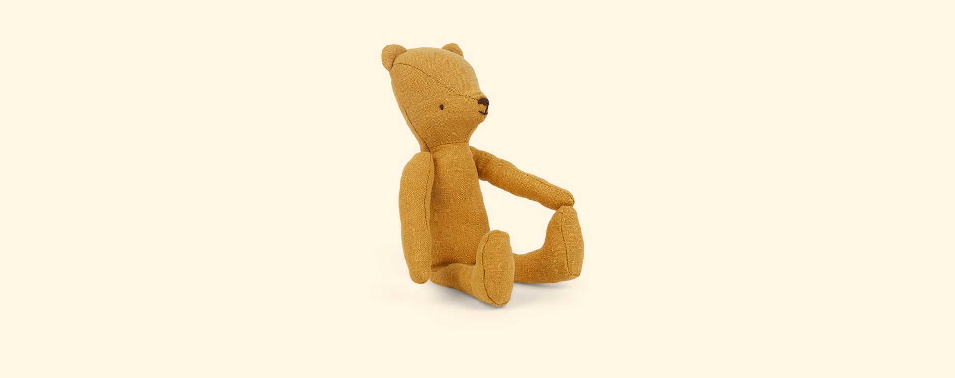Yellow Maileg Teddy Junior