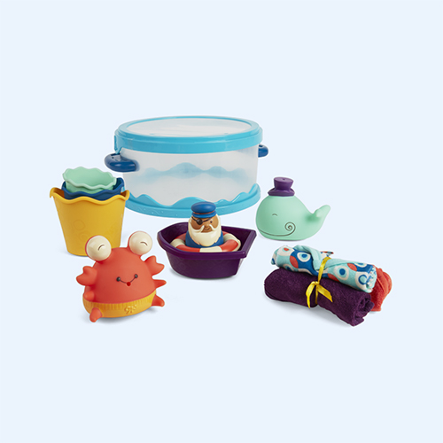 Multi B. Toys Wee B.Splashy Bath Playtime Set