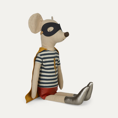 Boy Maileg Super Hero Maxi Mouse