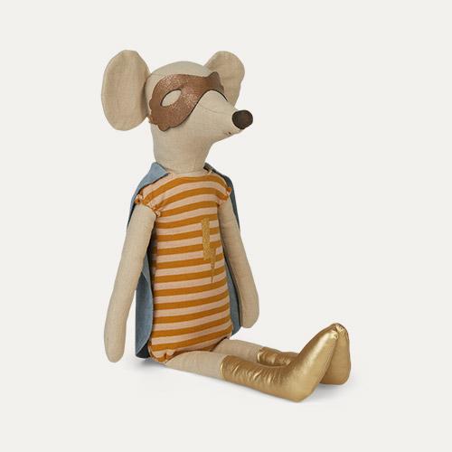 Girl Maileg Super Hero Maxi Mouse
