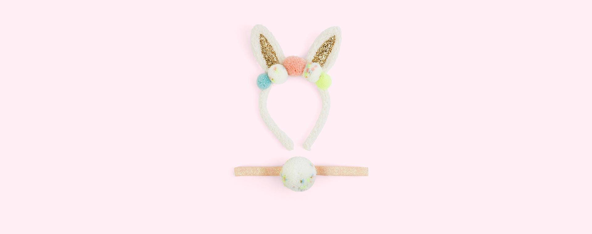 Multi Meri Meri Pom Pom Bunny Ear Dress Up