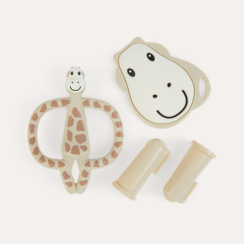 Giraffe Matchstick Monkey Teething Starter Set