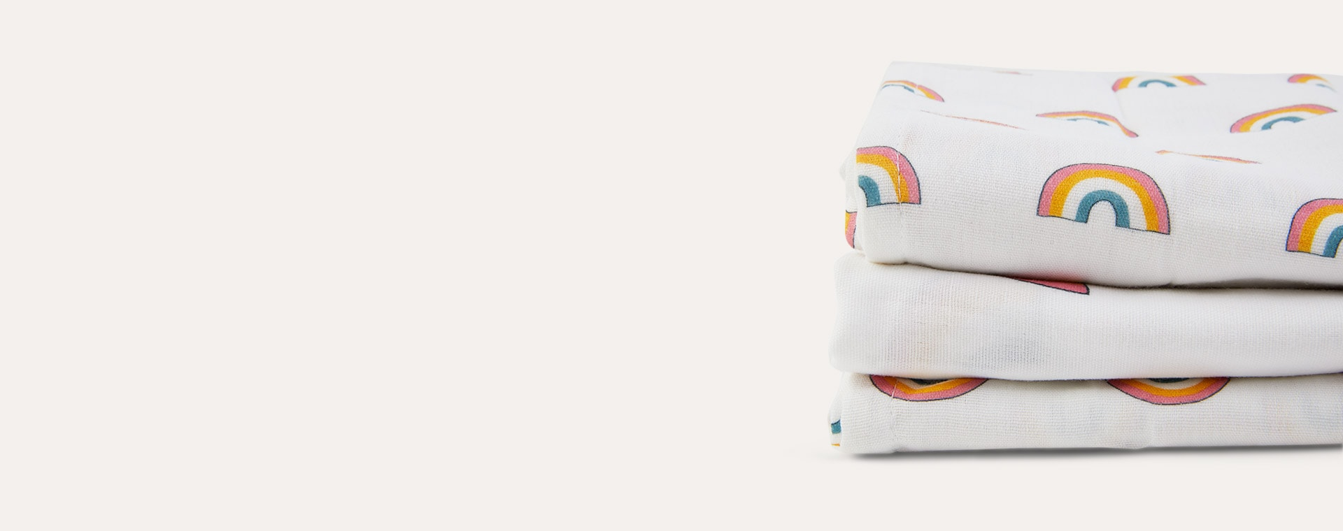 Rainbow Mama Designs Muslin Squares 3 Pack