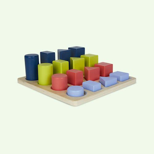Multi Legler Toys Educate Geometric Puzzle