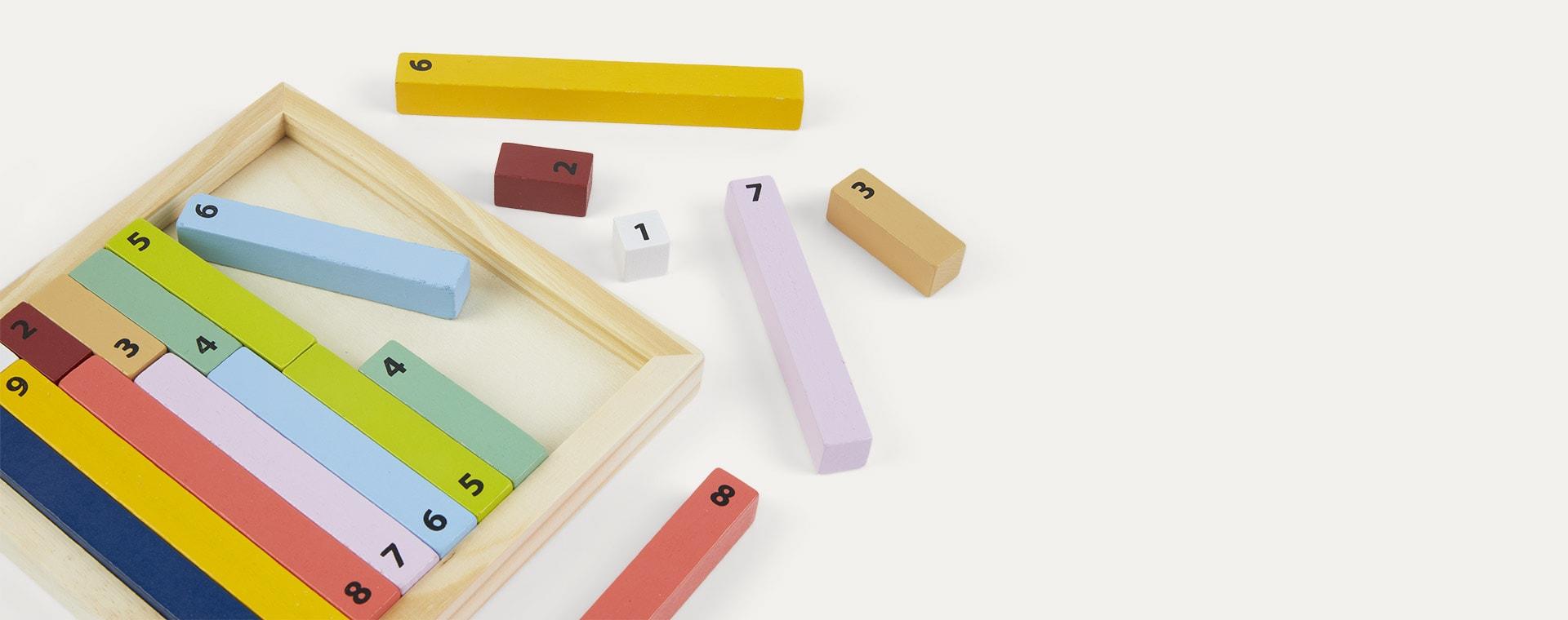Multi Legler Toys Educate Counting Sticks