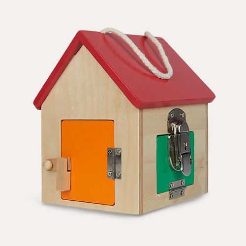 Multi Legler Toys Compact Lock House