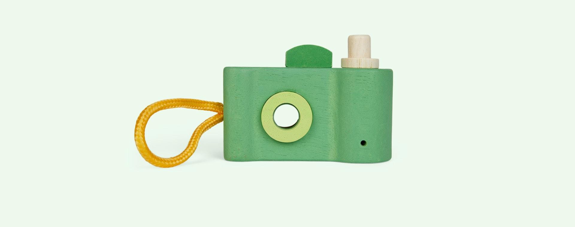 Green Legler Toys Wooden Toy Camera