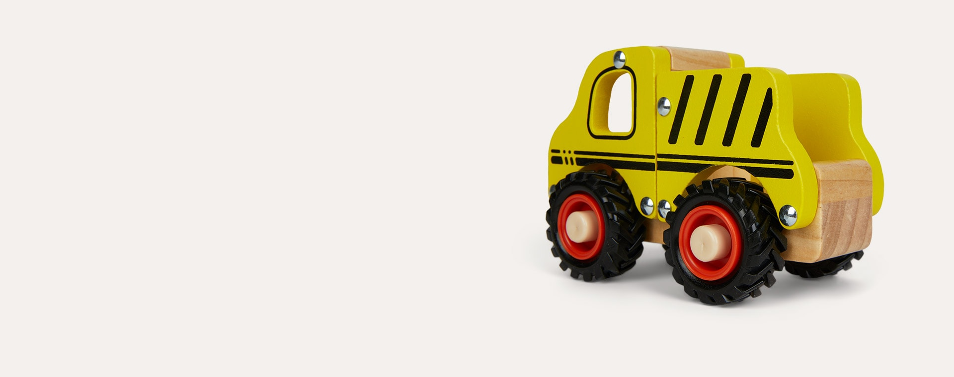 Yellow Legler Toys Construction Site Vehicle