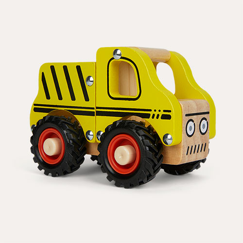 Yellow Legler Toys Construction Site Vehicle