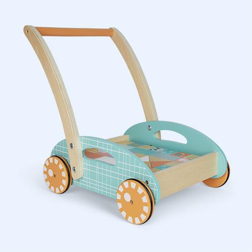 Multi Legler Toys Pastel Baby Walker