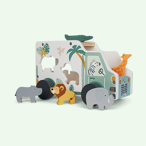 Safari Legler Toys Safari Car Shape Fitting Game