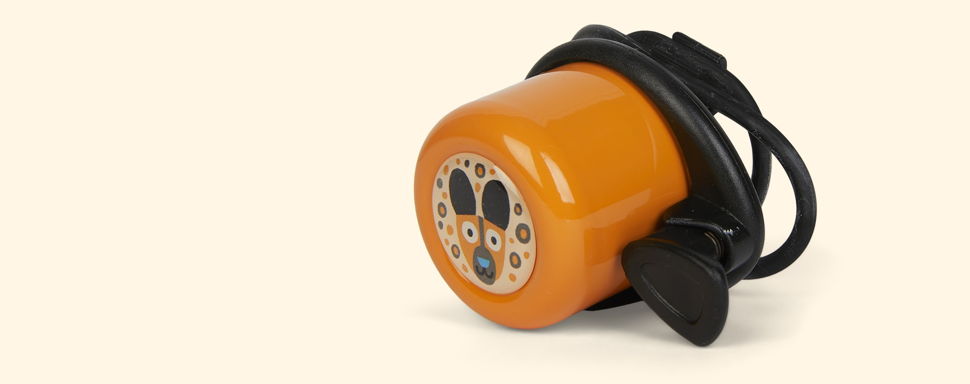 Orange Wishbone Design Studio Wishbone Bicycle Bell