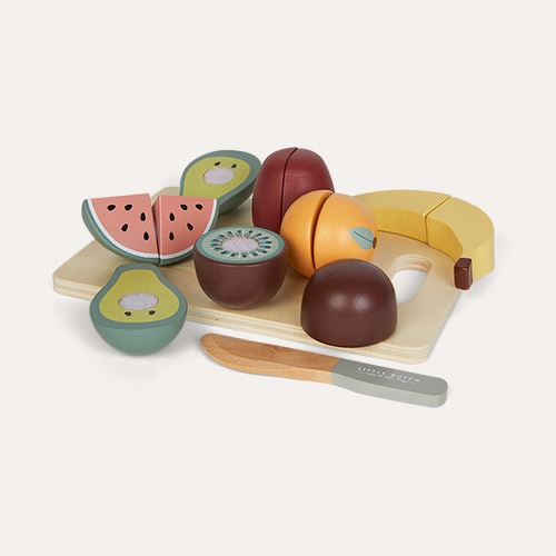 Multi Little Dutch Wooden Cutting Fruit