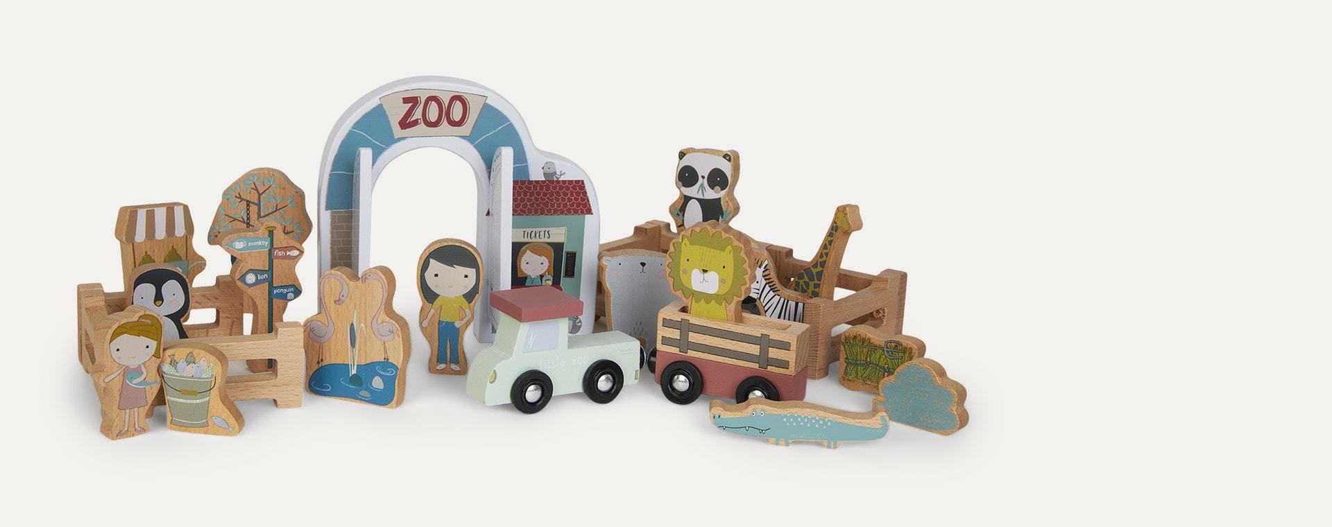 Multi Little Dutch Railway Train Extension - Zoo
