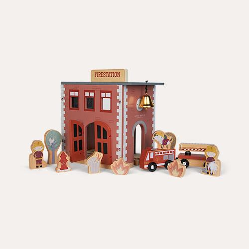 Multi Little Dutch Railway Train Extension -  Fire Station