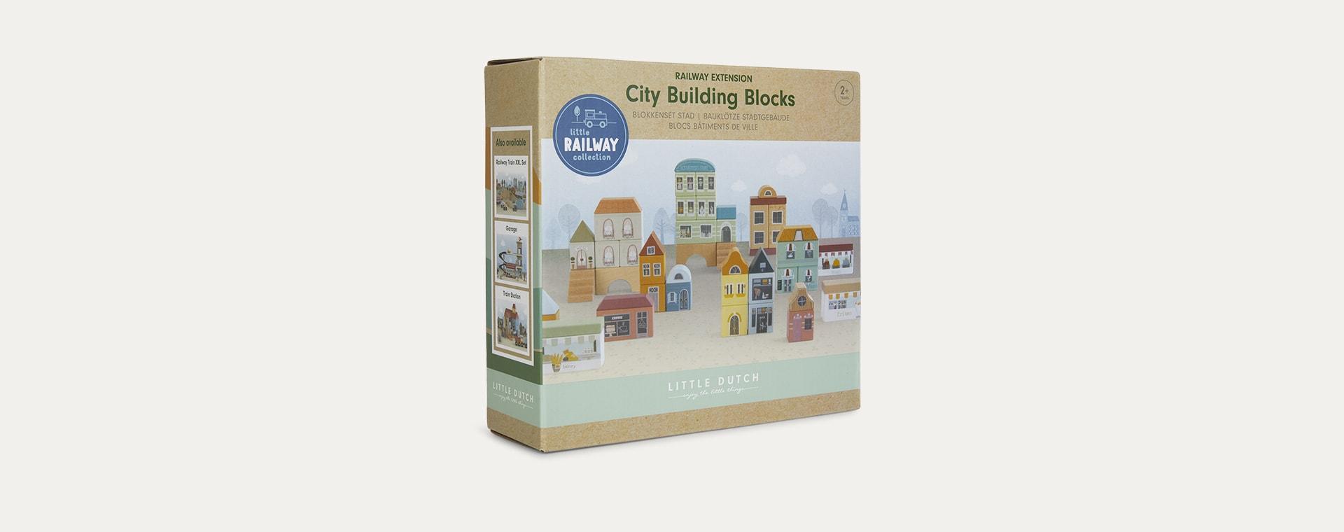Multi Little Dutch Railway Train Extension -  City Building Blocks