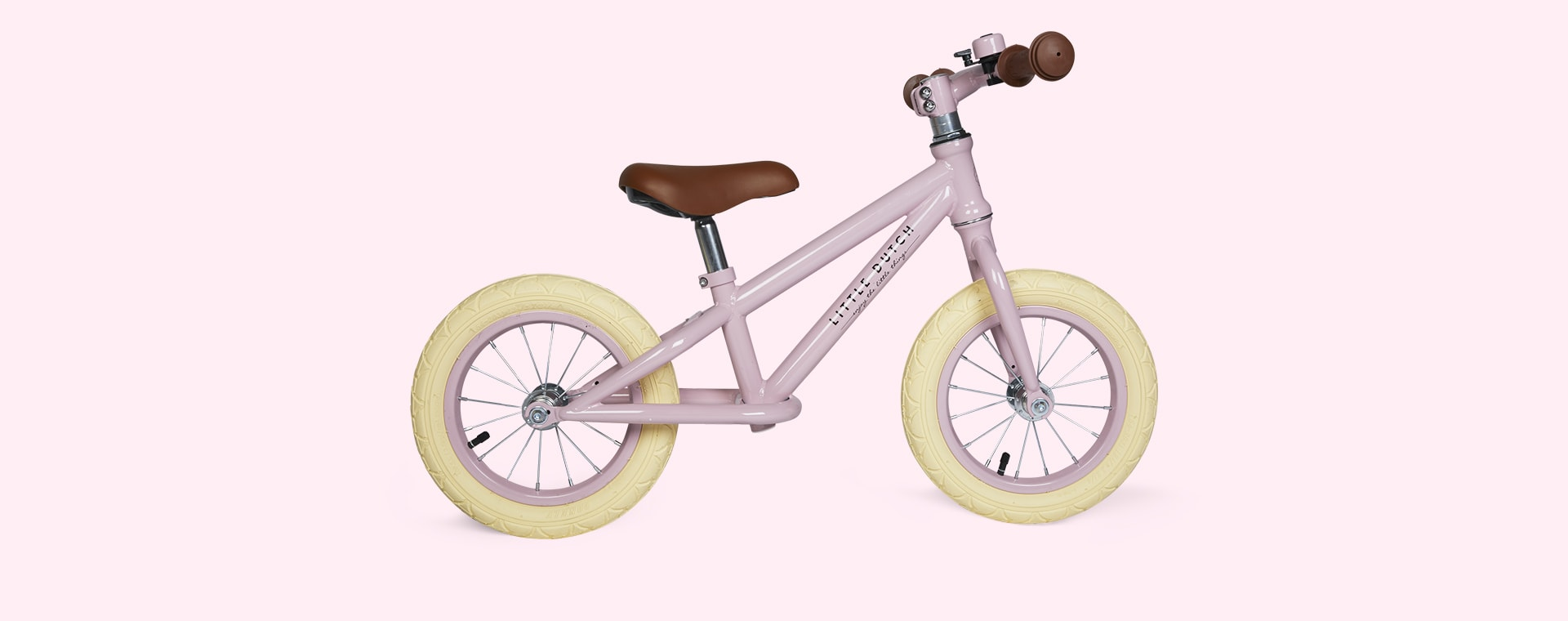Pink Little Dutch Balance Bike
