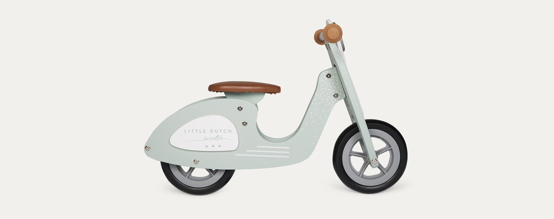 Mint Little Dutch Balance Scooter
