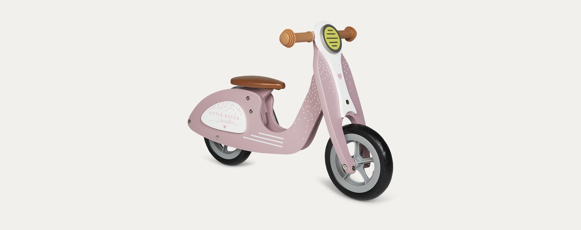 Pink Little Dutch Balance Scooter