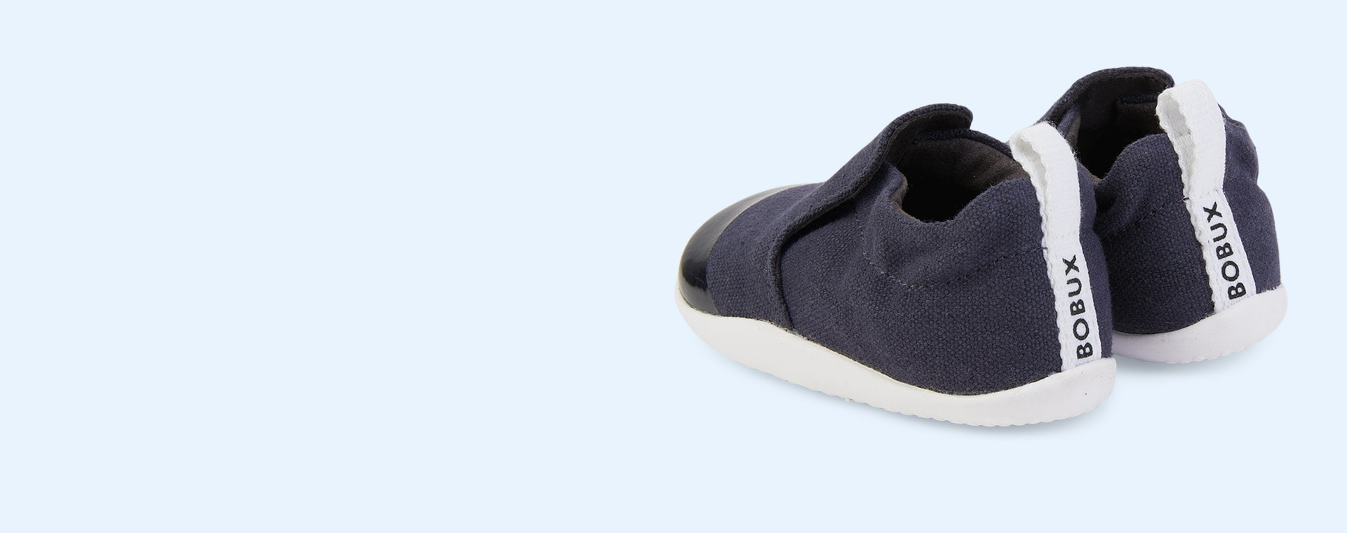Navy Bobux Step Up Scamp Soft Sole