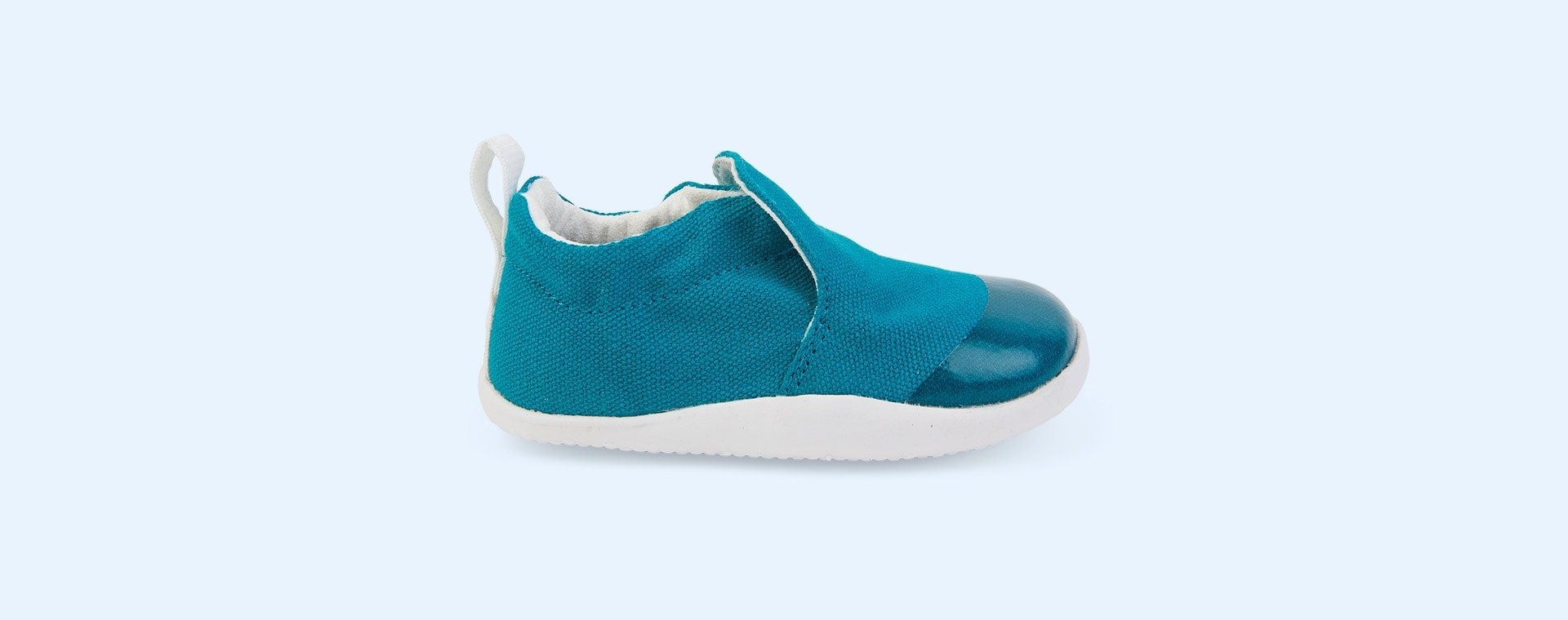 Peacock Bobux Step Up Scamp Soft Sole