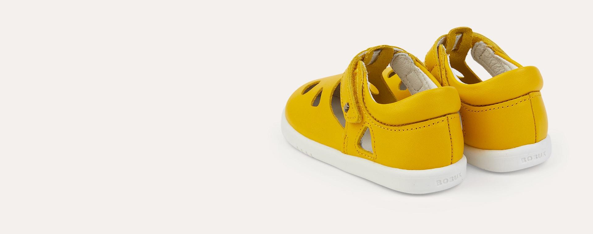 Yellow Bobux I-Walk Zap Sandal