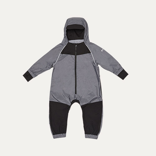 Heather Grey Stonz Rain suit